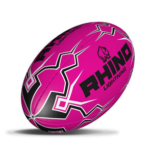 Lightning Pink Touch Rugby Ball - rhino-direct-2.myshopify.com