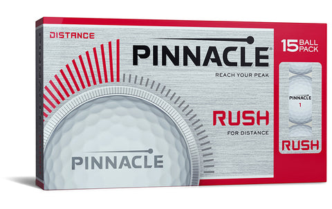 Pinnacle Rush Logo Golf Balls 15 Pack