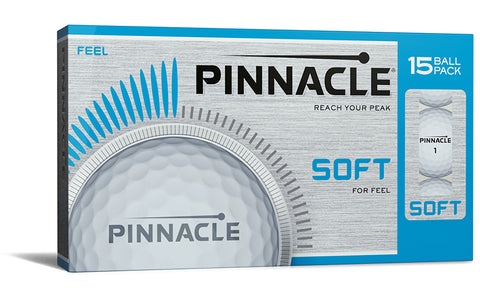 Pinnacle Soft Logo Golf Balls 15 Pack