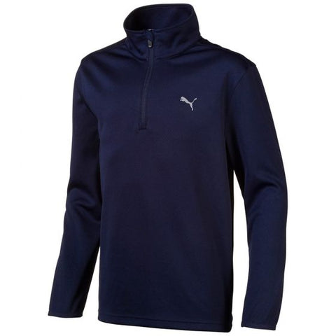 Puma Junior 1/4 Zip Jacket