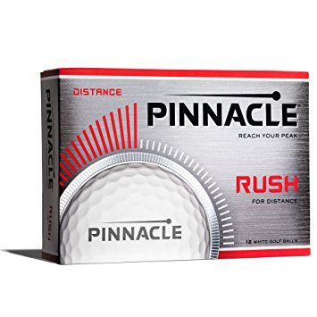 Pinnacle Rush Logo Golf Balls