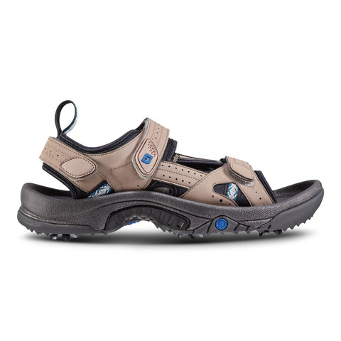 Foot Joy Golf Specialty Mens Sandal all over Dark Taupe
