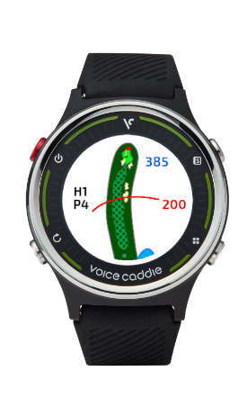 Voice Caddie G1 Golf GPS Watch w/ Green Undulation and Slope