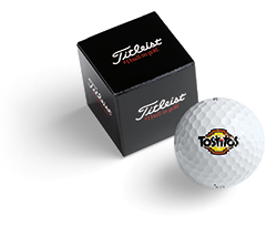 Titleist 1-Ball Box Personalization or Logo