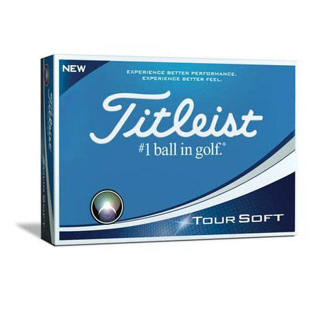 Titleist Tour Soft Logo Golf Balls