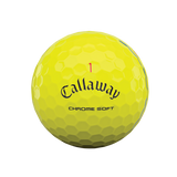 Callaway Chrome Soft Triple Track Yellow Golf Balls