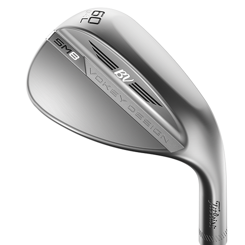 Titleist Vokey SM8 Wedge L Grind Tour Chrome Finish
