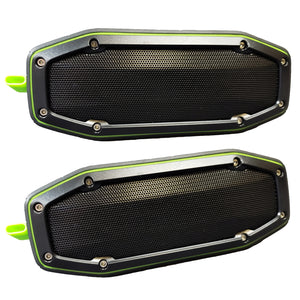 True Wireless Pairable Speakers $99.99 Two Pack Special - Green
