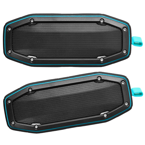 True Wireless Pairable Speakers $99.99 Two Pack Special - Blue