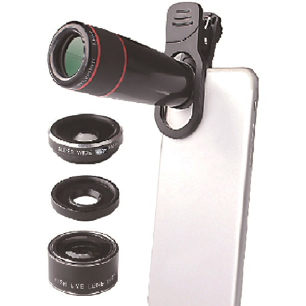Snappy Pics Plus 4 in 1 Camera Glass Lens Kit