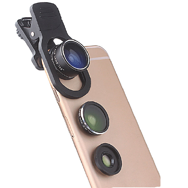 Snappy Pro 3 in 1 Glass Camera Lens Kit
