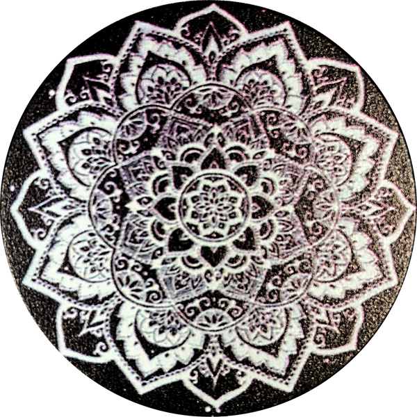 Black Mandala Fun Pop