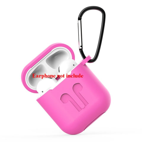 Image of Soft Silicone Case For Airpods For Air Pods Shockproof Earphone Protective Cover Waterproof for iphone 7 8 Headset Accessories