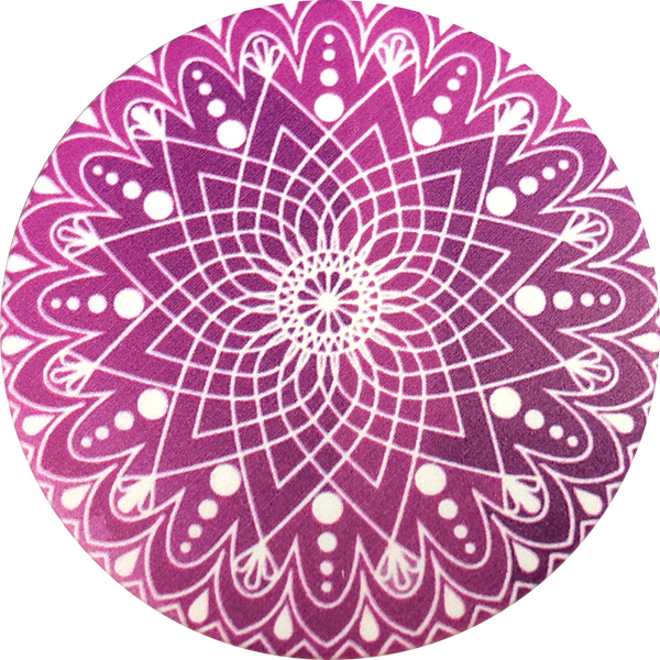 Purple Mandala Fun Pop