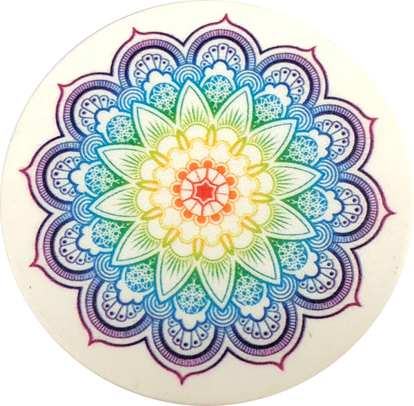 Colorful Mandala Fun Pop