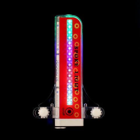 Image of NEW ULTRA BRIGHT 96-LED WHEEL SPOKE LIGHT - BE A DAY & NIGHT RIDER-BE SEEN ON/OFF ROAD-RUGGED WATERPROOF MODEL-32 LIGHT PATTERN OPTIONS TO CHOOSE FROM + free shipping