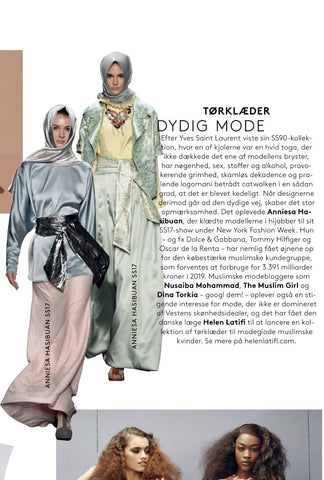 Helen Latifi - Fashion - Modest - Magazine