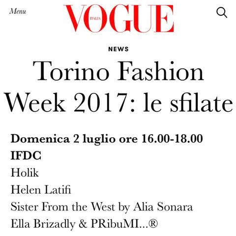Torino Fashion Week - Helen Latifi - Hijab