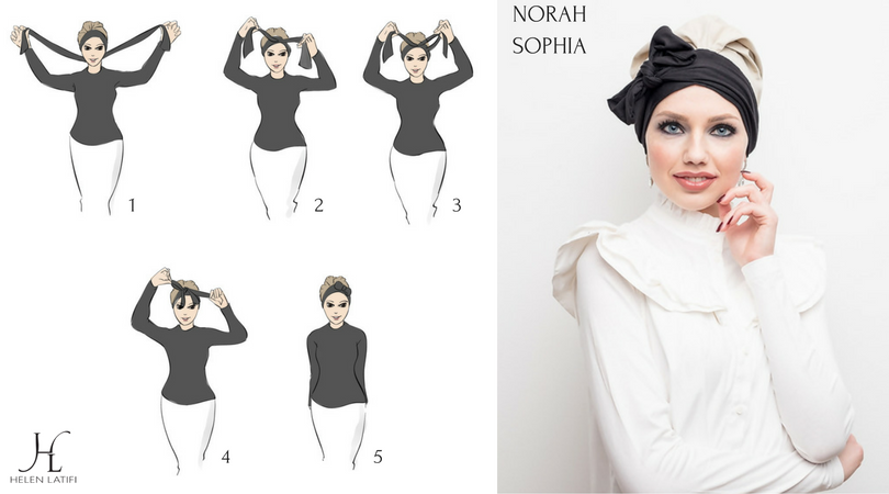 Norah Stylish - Creme & Charcoal - Helen Latifi
