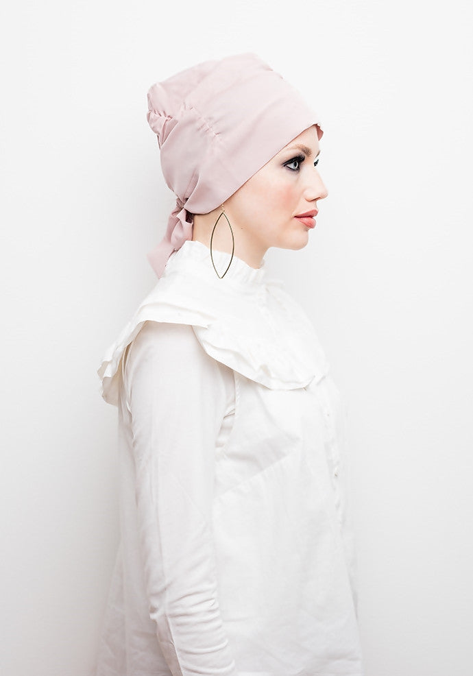 Instant - Turban - Zarah Graceful - Rose Flower - Helen Latifi