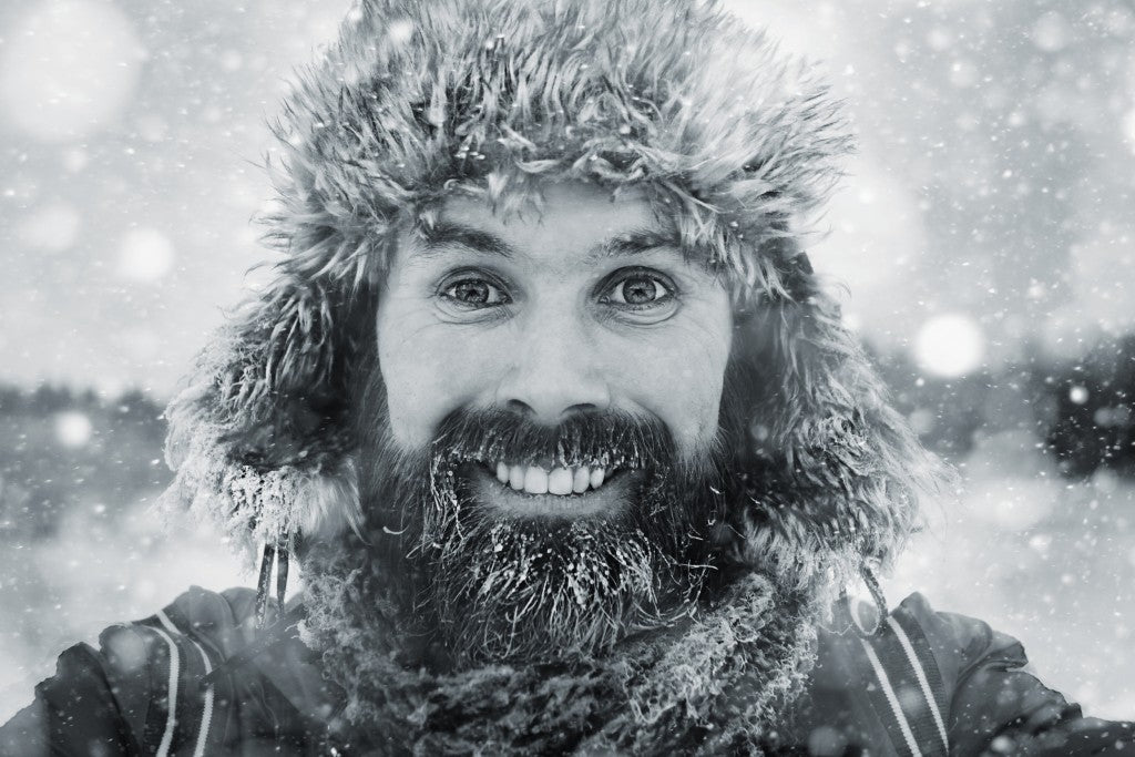 winter beard
