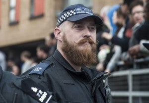 Police with beards