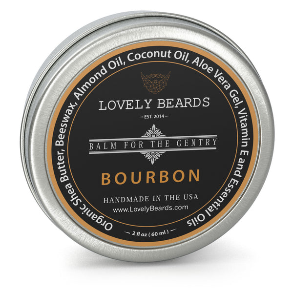 Bourbon Beard Balm by Lovely Beards