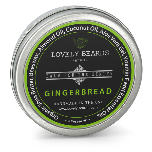 Gingerbread Beard Balm by Lovely Beards