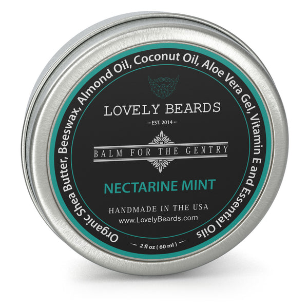 Nectarine Mint Beard Balm by Lovely Beards
