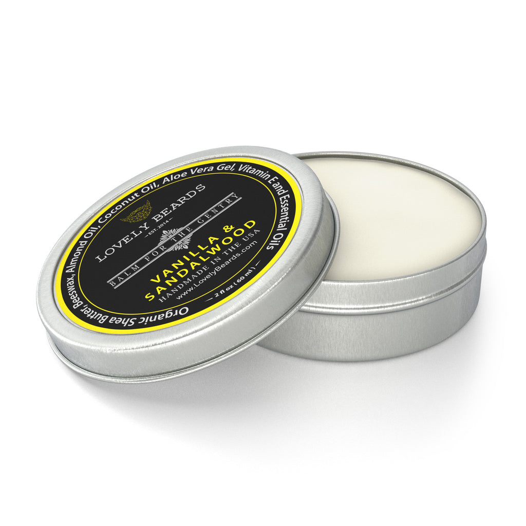 Vanilla Sandalwood Beard Balm by Lovely Beards