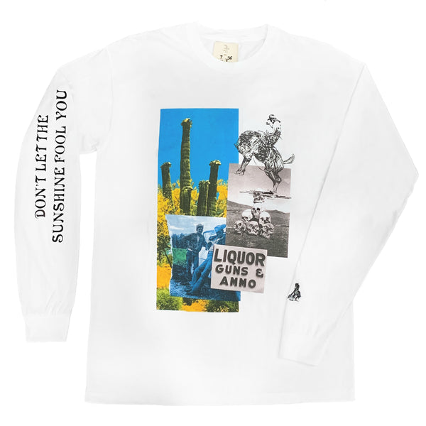 """SUNSHINE FOOLS YOU"" LONGSLEEVE SHIRT"