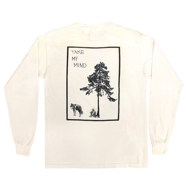 """TAKE MY MIND"" LONGSLEEVE SHIRT"
