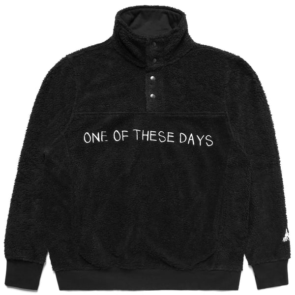 One Of These Days Sherpa Jacket - Black