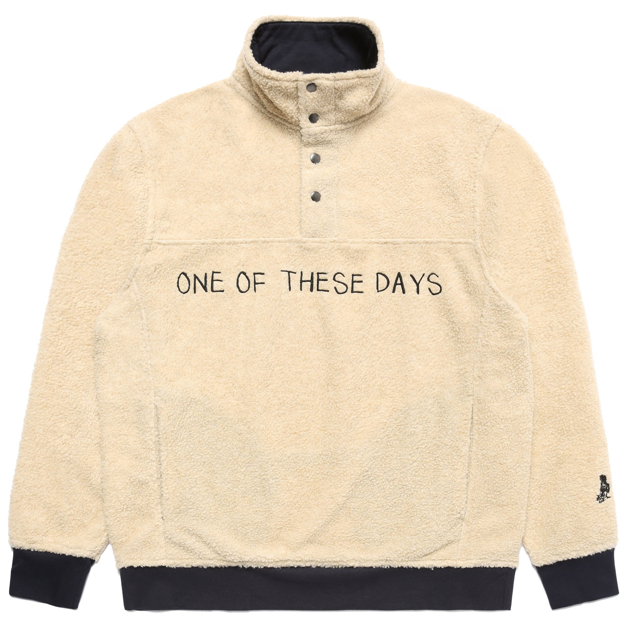 One Of These Days Sherpa Jacket - Ivory