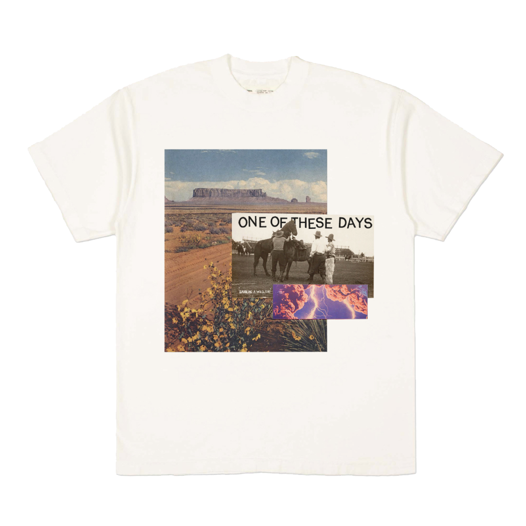 IN BLOOM T-SHIRT - OFF WHITE