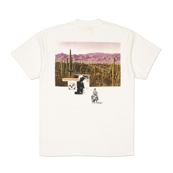 """INNER REALITY"" TEE - OFF WHITE"