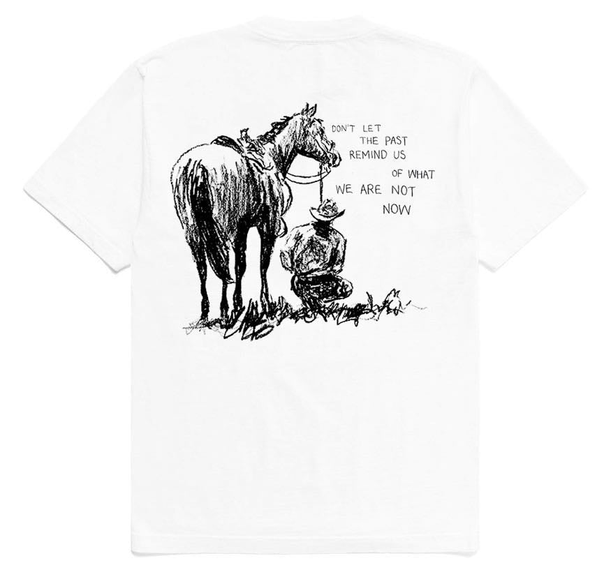 """Past Remind Us T-Shirt - White"