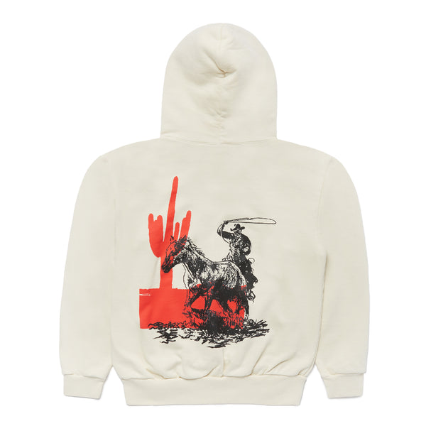 """LOST PARADE"" HOODED SWEATSHIRT - IVORY"