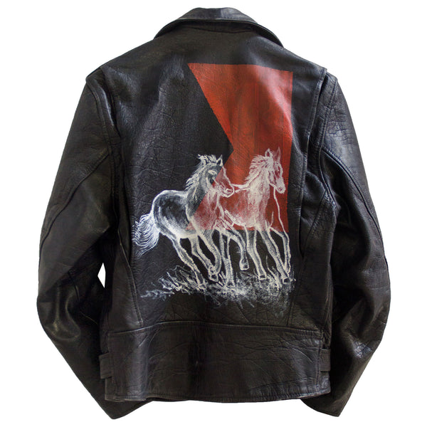 """All The Wild Horses"" Leather Jackets"
