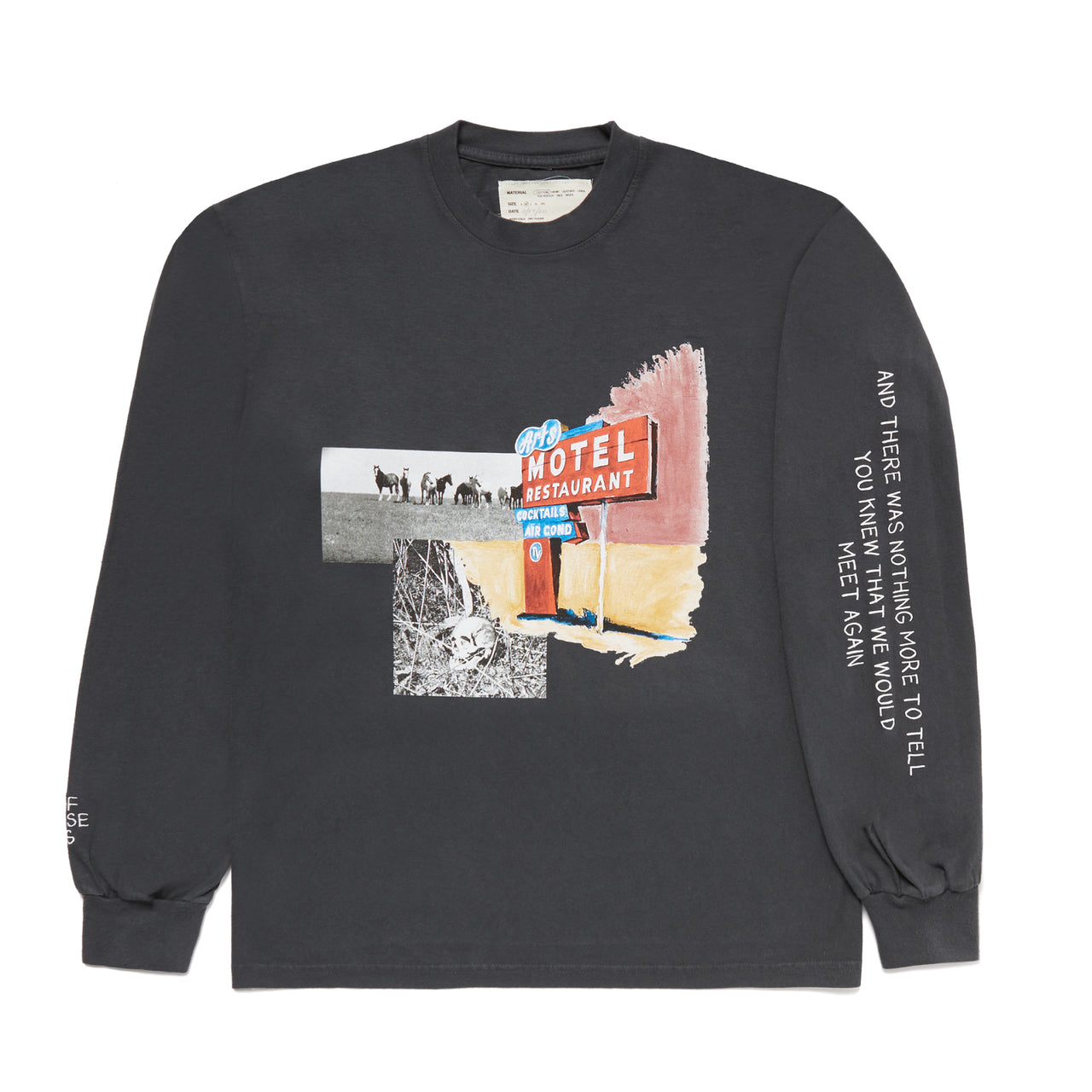 """NOTHING MORE"" LONGSLEEVE SHIRT - BLACK"