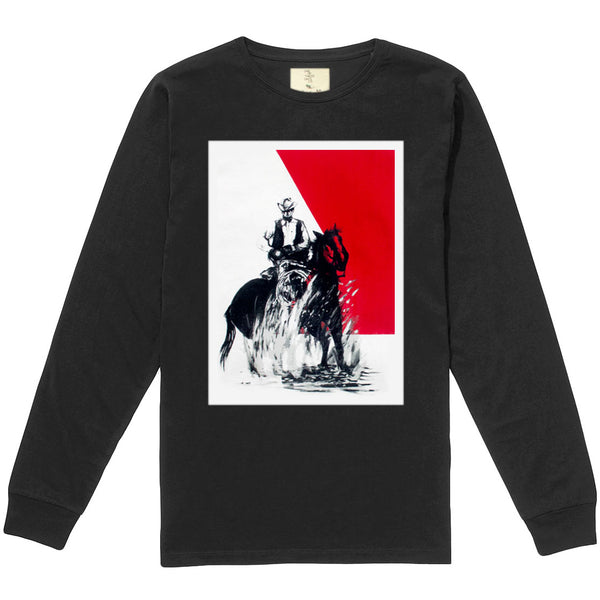 """Now You Know"" LONG SLEEVE Shirt - Black"