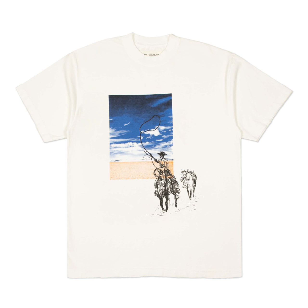 """SILENCE IS GOLDEN"" TEE - OFF WHITE"