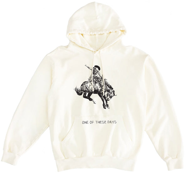 """THINGS MUST PASS"" HOODED SWEATSHIRT"