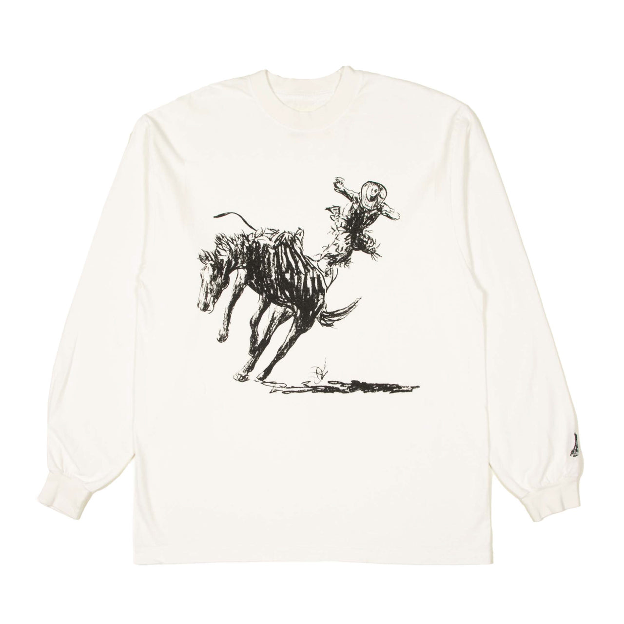 """TIME & TIME AGAIN"" LONGSLEEVE SHIRT - OFF WHITE"