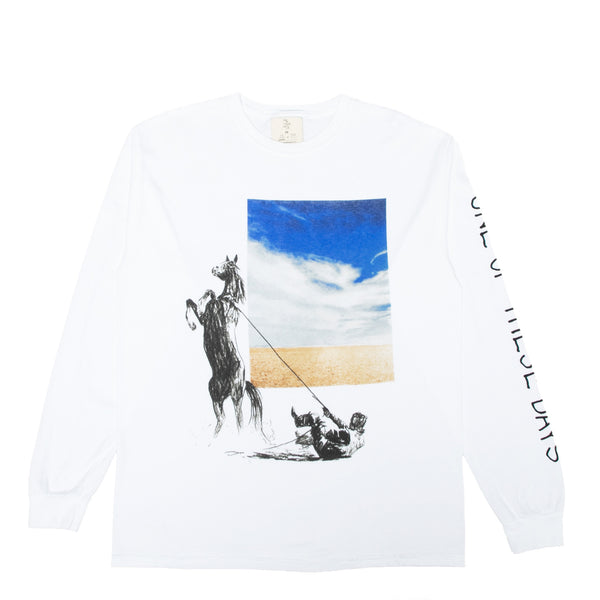 """Rearing Horse"" Long Sleeve T-shirt"