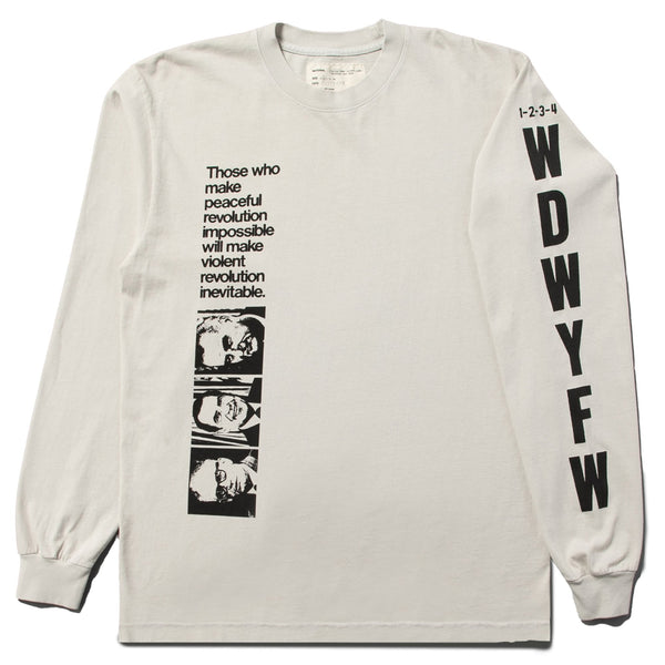 PEACEFUL REVOLUTION LONGSLEEVE SHIRT