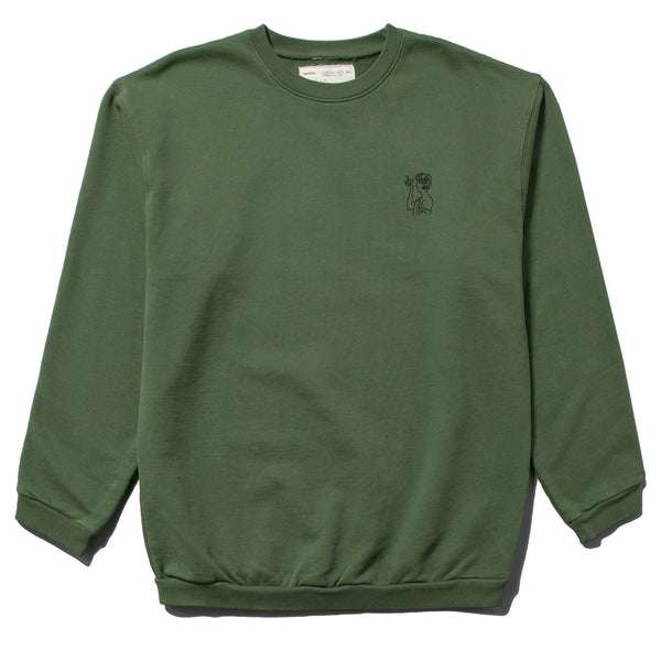 ICON CREWNECK SWEATSHIRT - CARGO