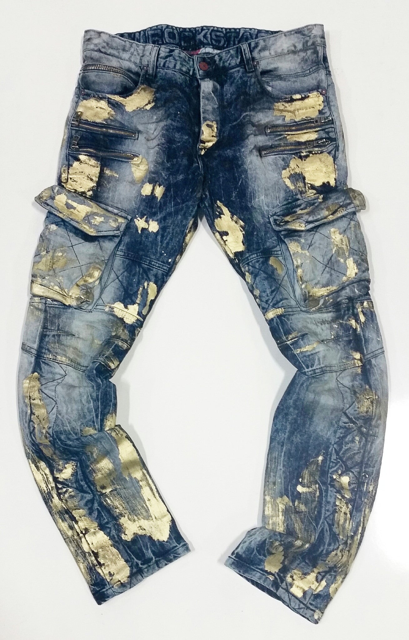 Jeff Wash Motorcycle Jeans