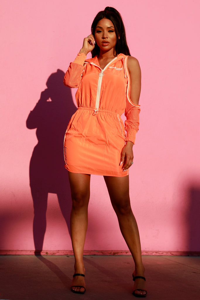 AMILA SPORT DRESS - ORANGE