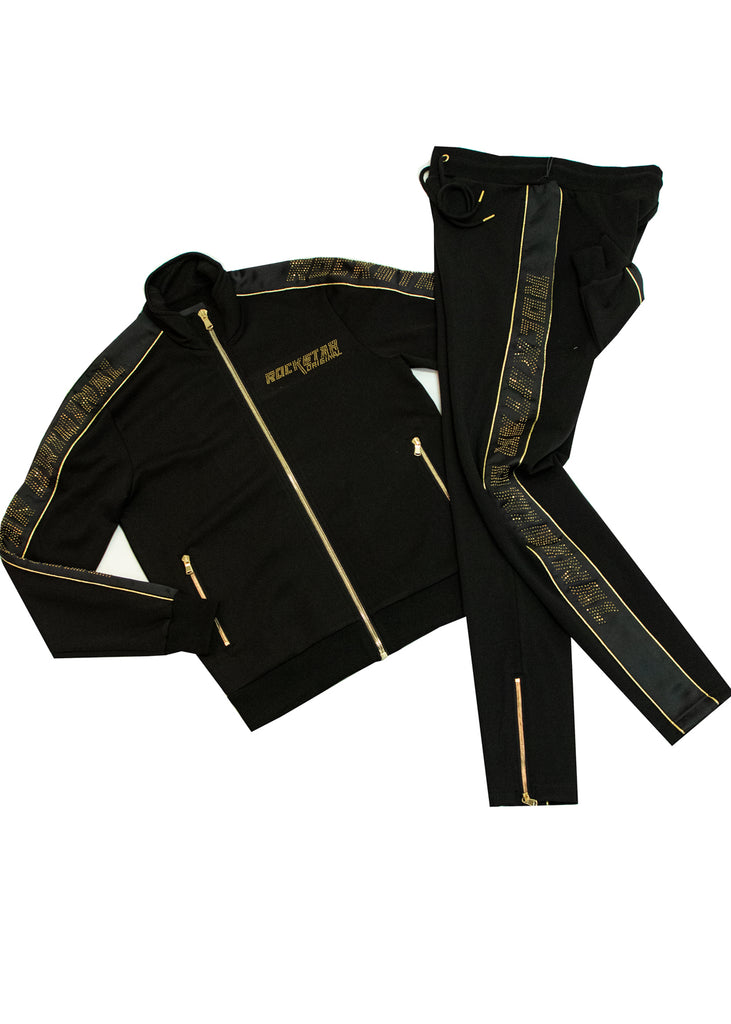 Angel Track Suit (Black)